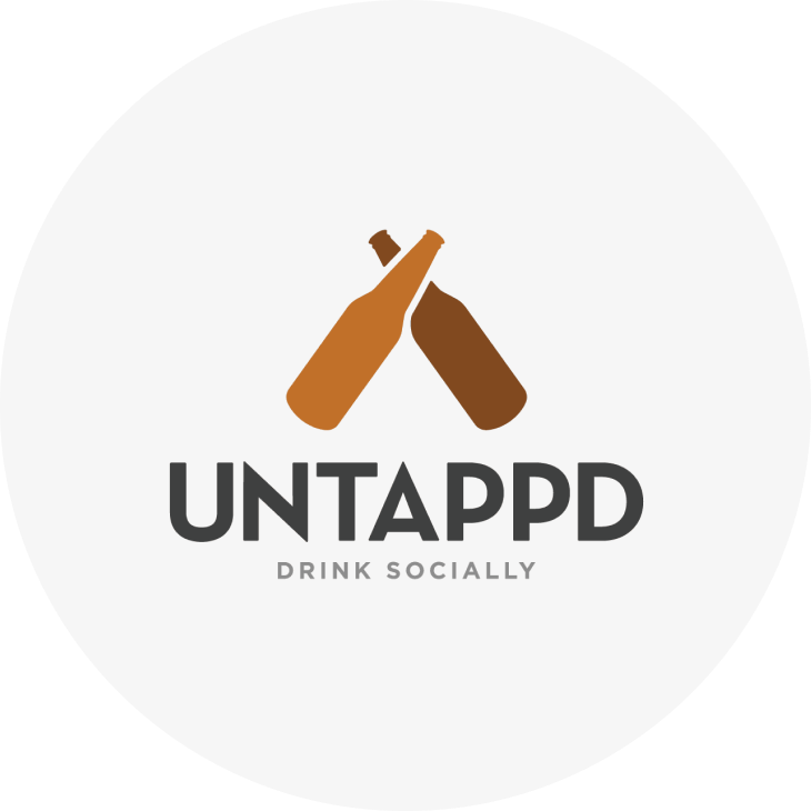 Untappd step circle with logo