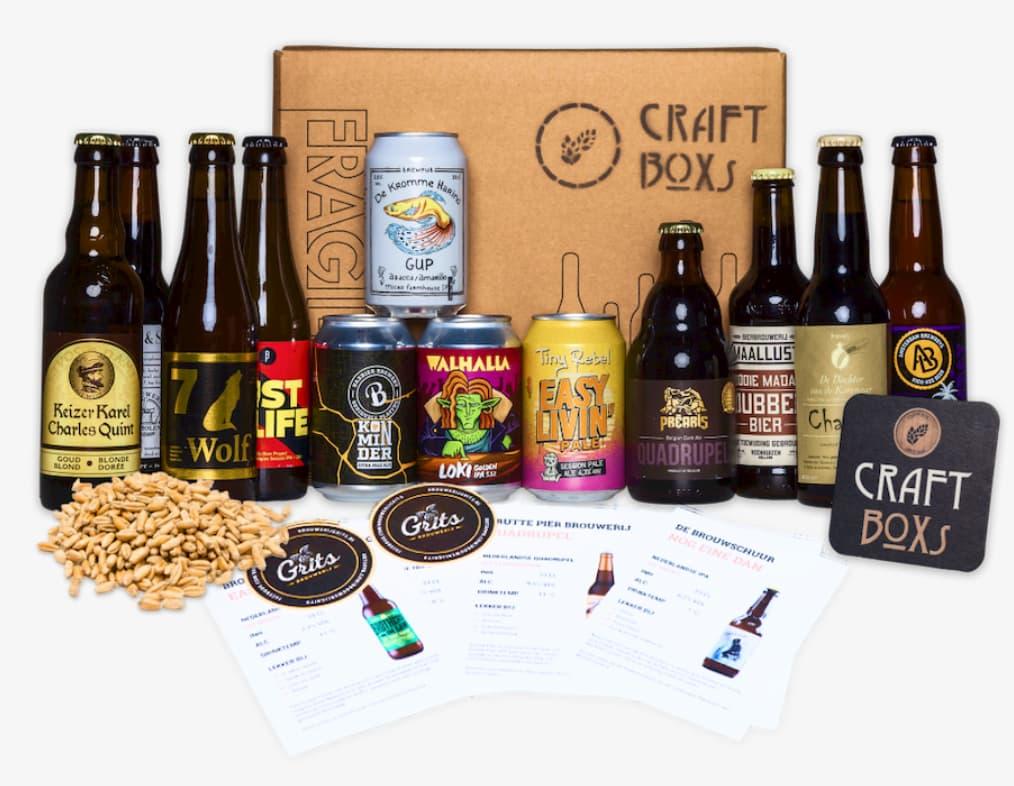 CraftBoxs bierabonnement regulier bierpakket