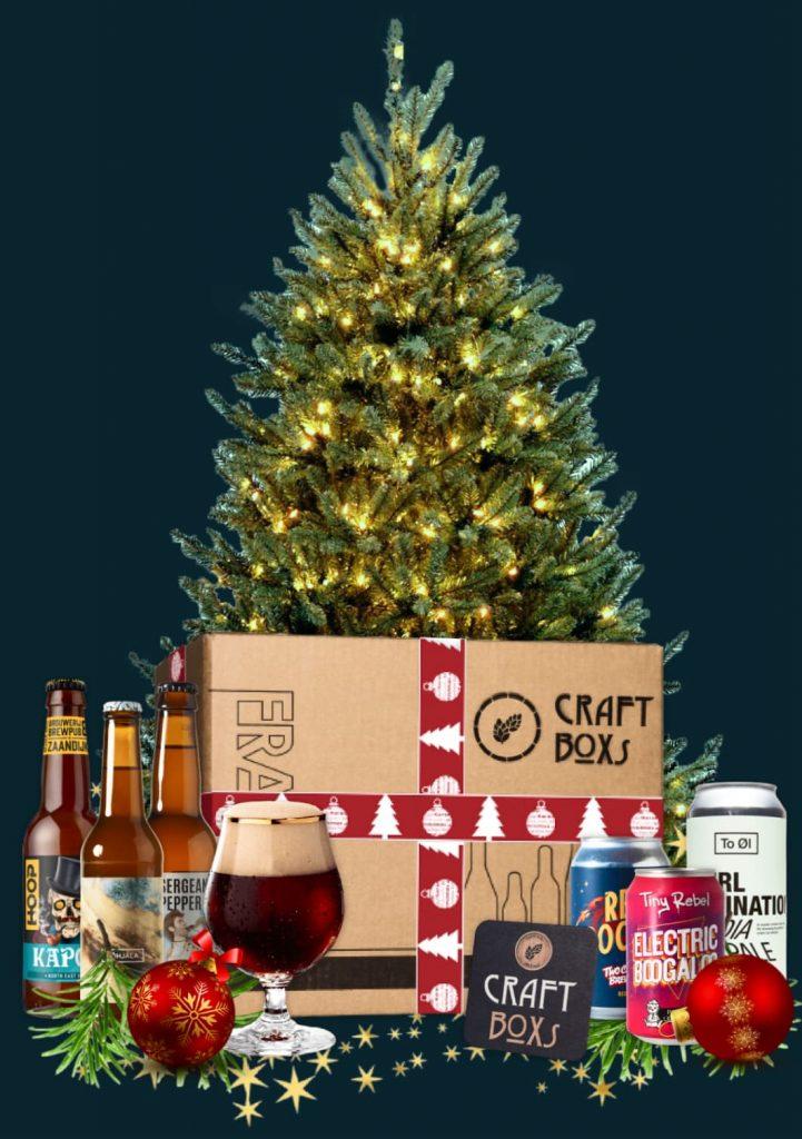 CraftBoxs speciaalbier Adventskalender met kerstboom